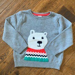Carters . Bear Sweater - 24M
